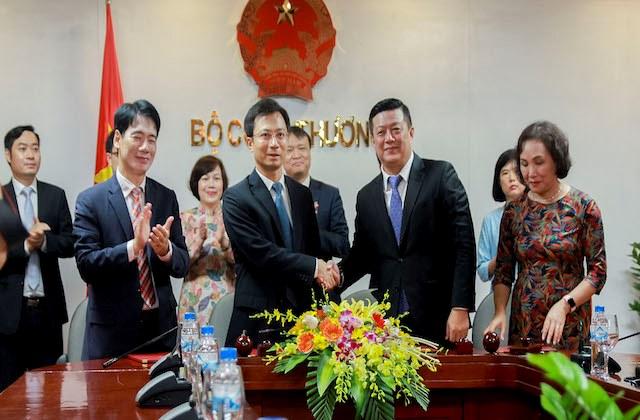 MM Mega Market Việt Nam 'hứa' mỗi tháng xuất 200 tấn nông sản qua Thái