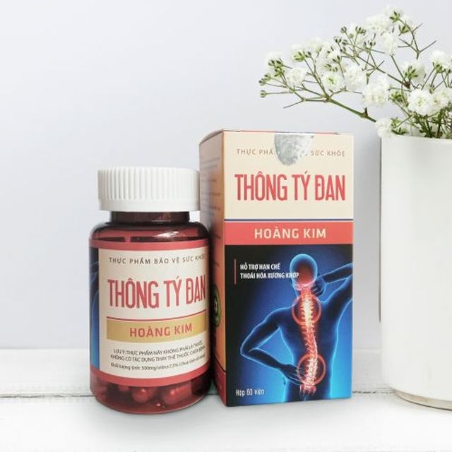 Thông Tý Đan - Giải pháp tối ưu hỗ trợ điều trị các bệnh xương khớp